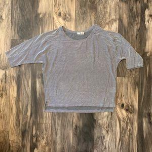 Artisan NY womens size large striped shirt